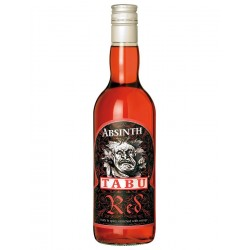 Tabu Red Absinth 55% - 0,7L