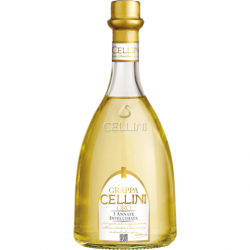 Cellini Grappa Oro 38% - 0,7L