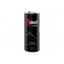 12 x Asbach Cola in Dose...