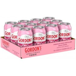 12 x Gordon's Pink & Tonic...