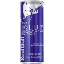 12 x Red Bull Blue Edition...