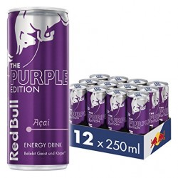 12 x Red Bull Purple...
