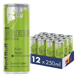12 x Red Bull Green Edition...