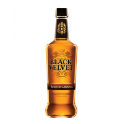 Black Velvet Caramel Whisky...