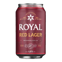Royal Red Lager 4,6% - 24 x...
