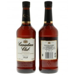 Canadian Club 40% - 0,7L