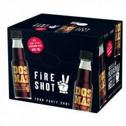 20 x Dos Mas Fire Shot...